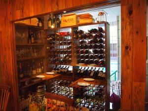 ワインも各種取り揃えています。