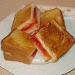 オリジナルトースト(トマト+チーズ)