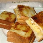 オリジナルトースト卵+チーズ